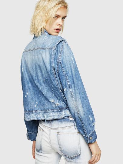 Diesel - DE-MERYL, Blue Jeans - Denim Jackets - Image 2