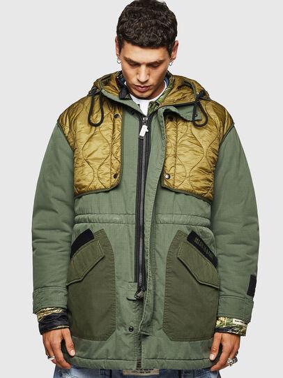 Diesel - W-KOVIK, Military Green - Winter Jackets - Image 1