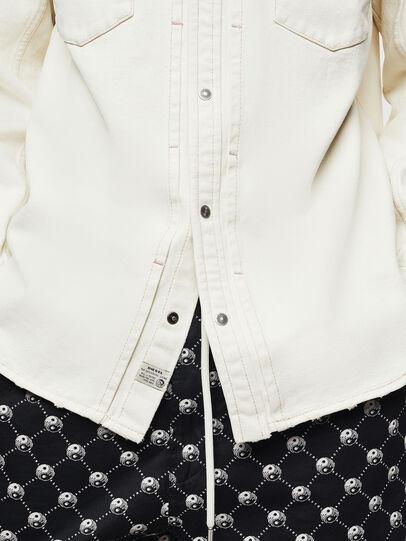 Diesel - D-BANDY-B, White - Denim Shirts - Image 5