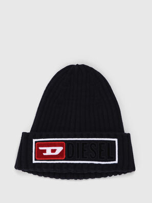 K-CODER-B, Bright Black - Knit caps