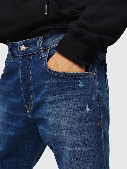 Diesel - D-Bazer 083AZ, Dark Blue - Jeans - Image 3