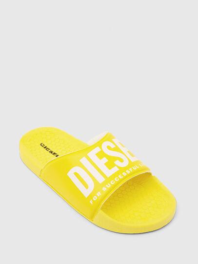 Diesel - FF 01 SLIPPER YO, Yellow - Footwear - Image 4