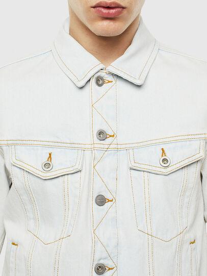 Diesel - D-GALY-F, Blue Jeans - Denim Jackets - Image 4