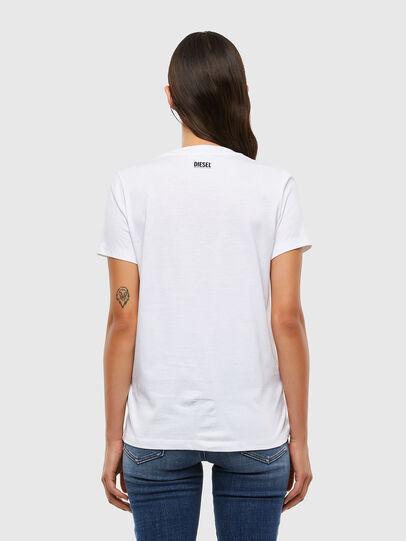 Diesel - T-SILY-V21, White - T-Shirts - Image 2