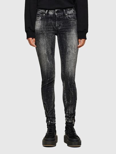 Diesel - D-Jevel 009PX, Black/Dark grey - Jeans - Image 1