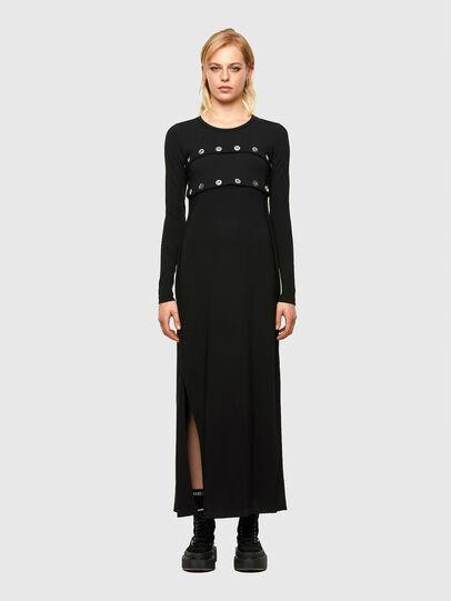 Diesel - D-RASPERY, Black - Dresses - Image 1