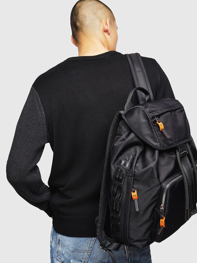 Diesel - RIESE, Black - Backpacks - Image 6