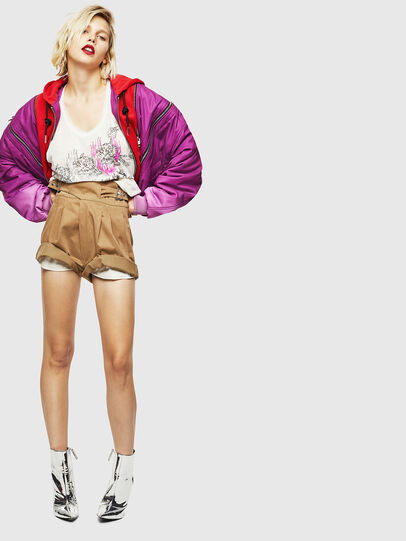 Diesel - S-BISA, Light Brown - Shorts - Image 6