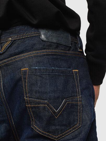 Diesel - Larkee 0806W, Dark Blue - Jeans - Image 4