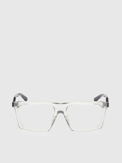 Diesel - DL5399, White/Black - Eyeglasses - Image 1