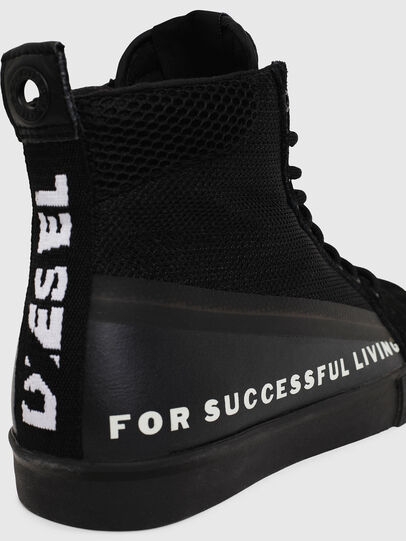 Diesel - S-DVELOWS MID, Black - Sneakers - Image 4