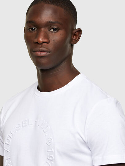 Diesel - T-DIEGOS-A2, White - T-Shirts - Image 3