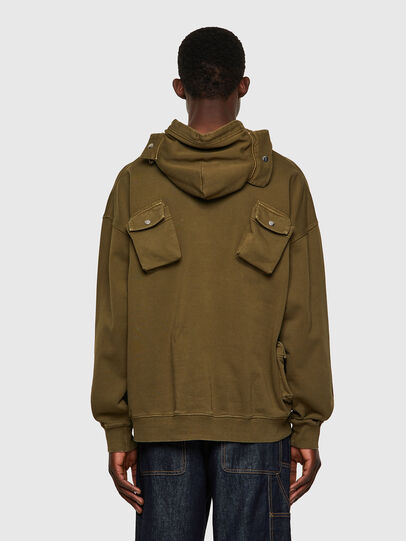 Diesel - S-ERPOCKOO-B1, Olive Green - Sweaters - Image 2