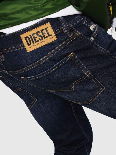 Diesel - Sleenker 083AW, Dark Blue - Jeans - Image 4