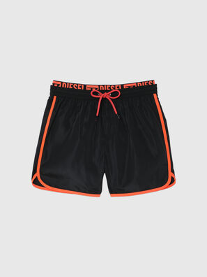 BMBX-DOLPHIN-R, Black - Swim shorts