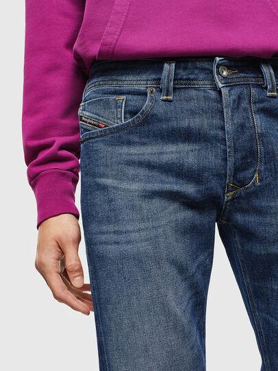 Diesel - Larkee 0096E, Medium blue - Jeans - Image 3