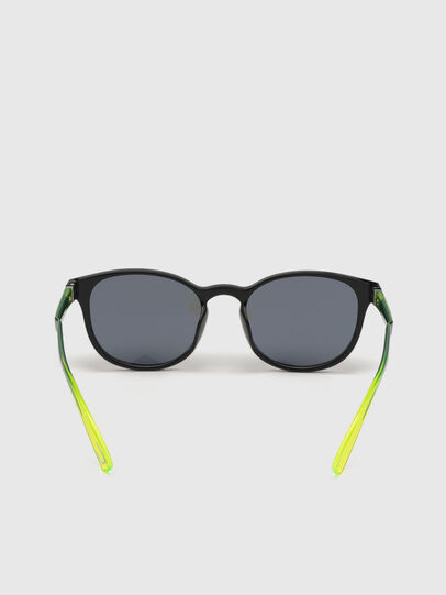 Diesel - DL0328, Black/Yellow - Sunglasses - Image 4