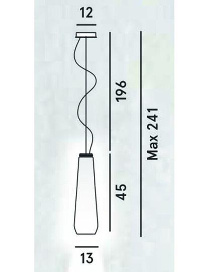Diesel - GLAS DROP,  - Hang Lighting - Image 2