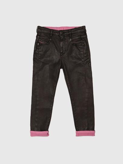 Diesel - D-FAYZA-J JOGGJEANS, Black/Pink - Jeans - Image 1
