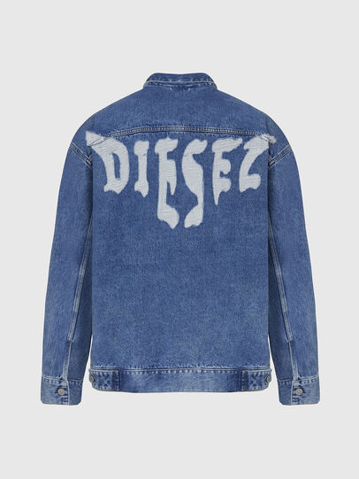 Diesel - D-RAF, Medium blue - Denim Jackets - Image 2