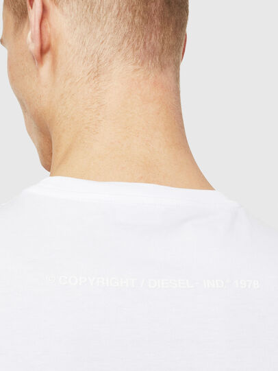 Diesel - T-JUST-T25, White - T-Shirts - Image 4