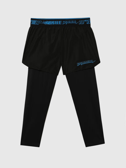 Diesel - UMLB-FAUST, Black - Pants - Image 1