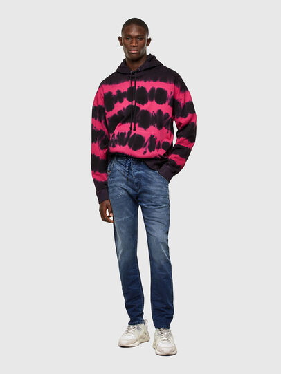 Diesel - KROOLEY JoggJeans® 069SL, Dark Blue - Jeans - Image 5