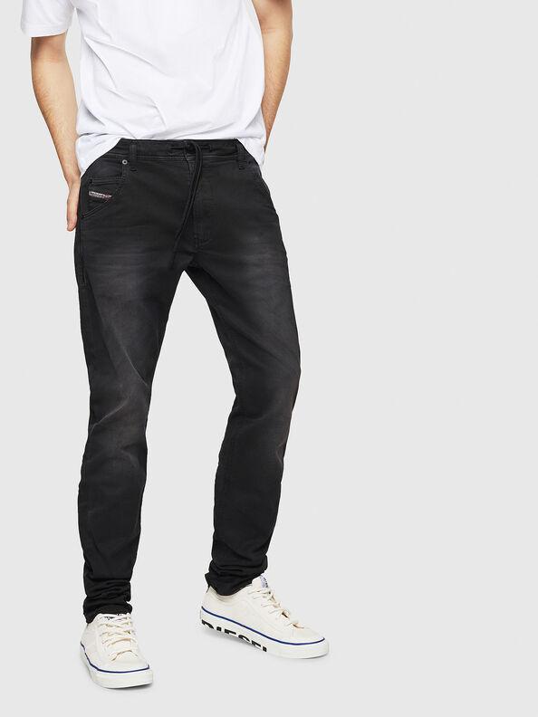 Krooley Long JoggJeans 0670M, Black - Jeans