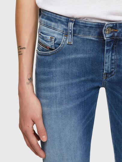 Diesel - Slandy Low 069ST, Light Blue - Jeans - Image 3