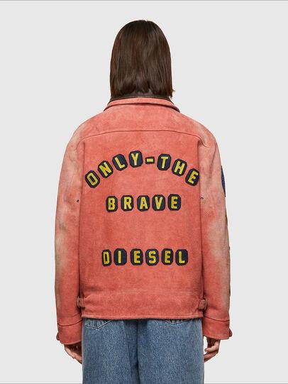 Diesel - DxD-3, Orange - Leather jackets - Image 5