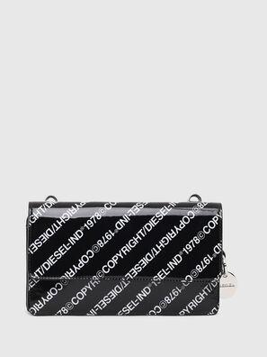 DUPLET LCLT, Black/White - Zip-Round Wallets