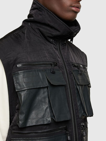 Diesel - J-AKKAD, Black - Jackets - Image 5