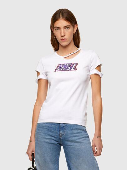 Diesel - T-BULLOCK-A2, White - T-Shirts - Image 1