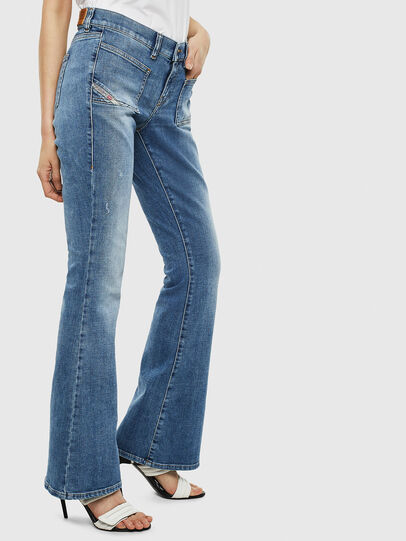 Diesel - D-Ebbey 0099M, Medium blue - Jeans - Image 4