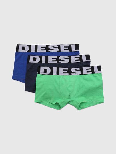 Diesel - UMBX-USHAWNTHREEPACK, Green/Blue - Underwear - Image 1