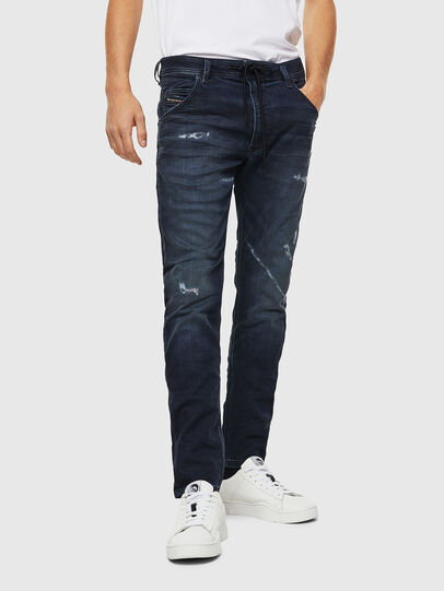 Diesel - Krooley JoggJeans 069KB, Dark Blue - Jeans - Image 1