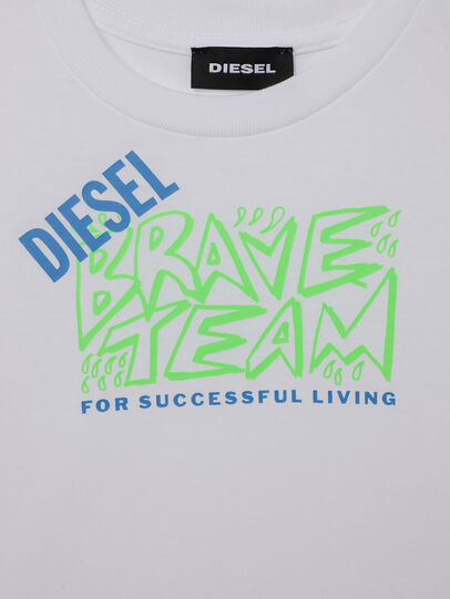 Diesel - TESSOB-R, White - T-shirts and Tops - Image 3