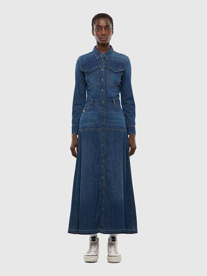 Diesel - DE-JOANNY, Medium blue - Dresses - Image 1