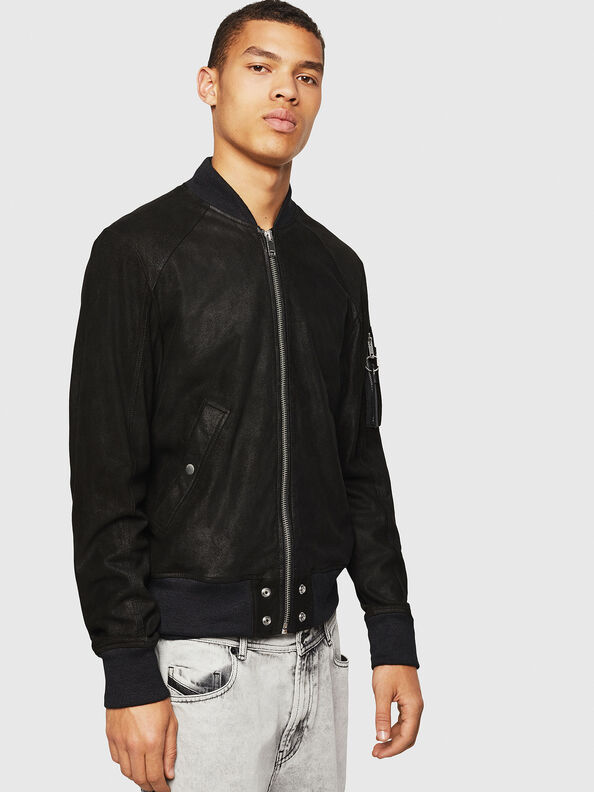 L-NIKOLAI,  - Leather jackets