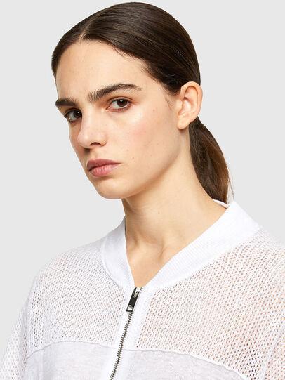 Diesel - M-ALEXA, White - Knitwear - Image 3
