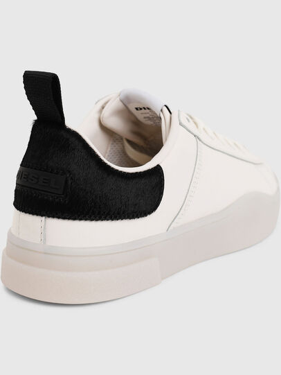 Diesel - S-CLEVER LOW LACE W, White/Black - Sneakers - Image 5