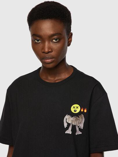 Diesel - T-BOYISH, Black - T-Shirts - Image 3