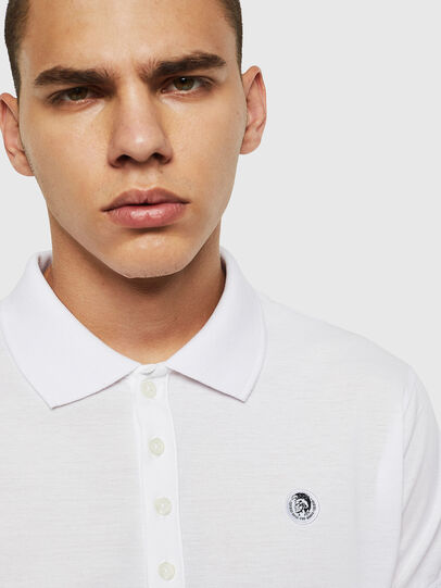 Diesel - T-WEET, White - Polos - Image 3