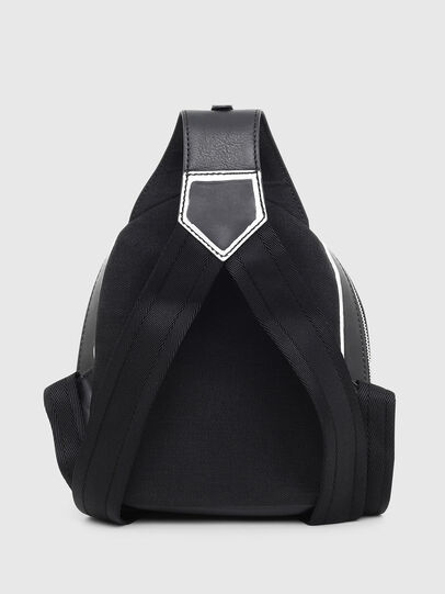 Diesel - ZANE', Black/White - Backpacks - Image 2