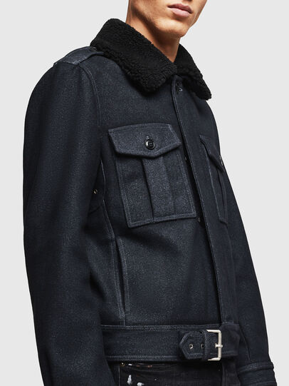 Diesel - W-VLADIMIR, Black - Winter Jackets - Image 7