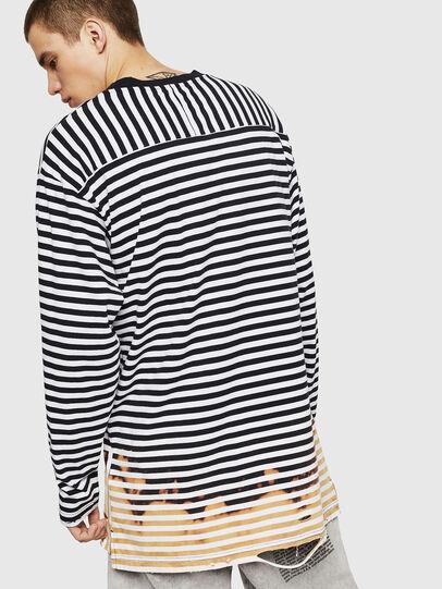 Diesel - T-OKSANA, Black/White - T-Shirts - Image 2