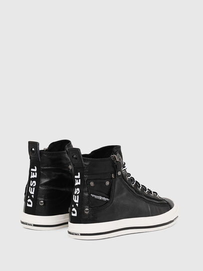 Diesel - EXPO-ZIP W, Black - Sneakers - Image 3