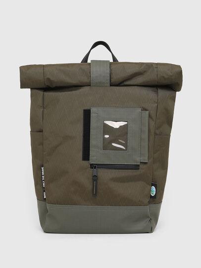 Diesel - SHINOBI, Green Camouflage - Backpacks - Image 1