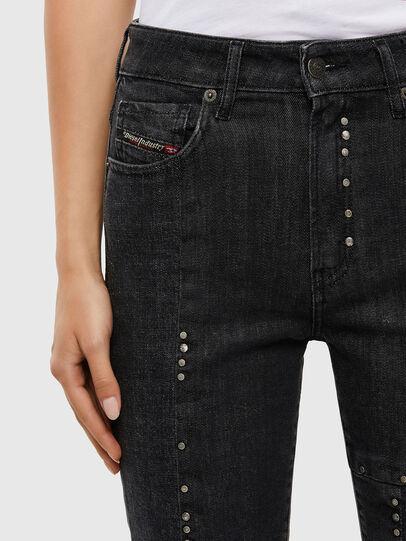 Diesel - D-Joy JoggJeans 009KY, Black/Dark grey - Jeans - Image 3