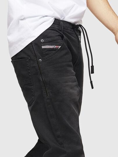 Diesel - Krooley Long JoggJeans 0670M, Black - Jeans - Image 3
